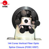 Chiusura ottica verticale della giuntura della fibra di 144 memorie