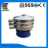 Poudre de café de qualité alimentaire de dépistage de vibration de la machine rotative