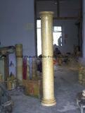 De gele Pijler van de Kolom van de Jade van het Onyx Blauwe Marmeren Roman