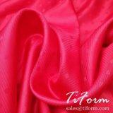 Polyester-Viscose forro de tejido Jacquard tejido sarga para prendas de vestir