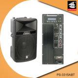 15 Zoll PROaktiver Plastiklautsprecher PS-3315abt USB-200W Ableiter-FM Bluetooth