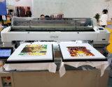 Impressora disponível da tela da máquina de impressão da camisa do vestuário T de duas páletes