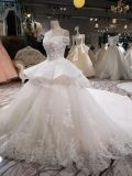 Aolanesの花嫁のブランドの白いウェディングドレス