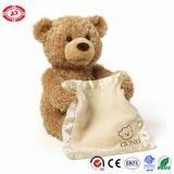 Brinquedo peekaboo do urso