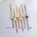 カスタム設計しなさい腕時計の水晶腕時計(WY-021B)を