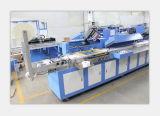 3 Farben, die Sorgfalt-Kennsatz-automatische Bildschirm-Drucken-Maschinen-Fabrik waschen