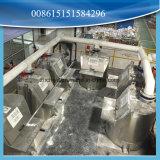 Ponderação da matéria- prima que mistura dosando a máquina para máquinas de WPC