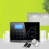 La seguridad del hogar de la RTPC GSM Sistema de alarma con cable inalámbricos con 16 zonas cableadas Yl-007m2-1