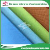 Tela no tejida antibacteriana 100% de Spunboned del polipropileno para la guarnición del colchón