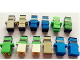 Sc adaptateur fibre optique de l'obturateur de série