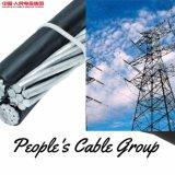 Conductor trenzado generales ABC Cable con AAC AAAC ACSR Mensaje neutro