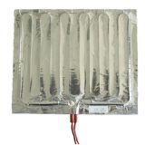 O elemento do calor elétrico com o refrigerador do calefator da folha de alumínio degela