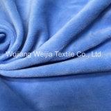 Polyester-Samt-Gewebe für Kleid-Möbel bereift Spielwaren