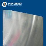 Grado 505/6082 una lámina de aluminio para aviones