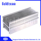 Liga de alumínio de extrusão/FIN/colar de desbaste Fin Dissipador de calor para a luz de LED