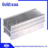 Светодиод теплоотвод профиль экструзионный радиатор системы охлаждения из алюминия Fin