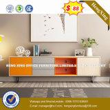 Armoire en bois moderne de verre aluminium / bureau de poste de travail Partition (HX-6M174)