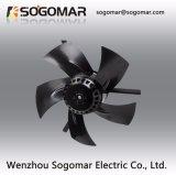 De diámetro 200 mm 380VCA Ventilador de escape con un gran caudal de aire de 2600rpm (VVVF)