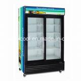 슈퍼마켓 세륨을%s 가진 상업적인 강직한 진열장 냉각기. 콜럼븀. RoHS, ETL는 승인했다