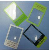 Design personalizado Lupa 3X 85*55mm Lupa lente Fresnel de plástico Hw-803