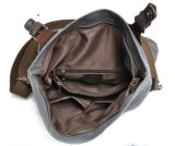 Водостойкий холст наплечная сумка из натуральной кожи для поездки на открытом воздухе мешок (RS-82052K)