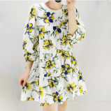 OEM-женщин Сладкие цветы модели одежды