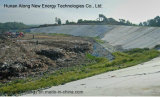 Aufschüttung-Biogas-Pflanze