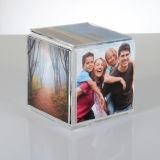 Blocco per grafici acrilico della foto del mini cubo della radura di prezzi bassi di disegno semplice