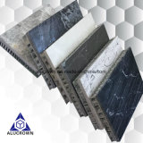 Customized 3mm Thickness Marble Stone Veneer Composite Honeycomb Panels