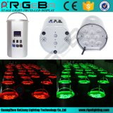 8 LED lumière LED sans fil laver cylindre