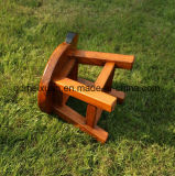 固体木の子供の腰掛け(M-X2603)