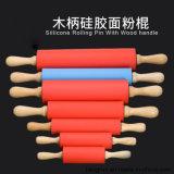 Mutifunctional деревянной ручкой 100% Food Grade силиконового герметика подвижной контакт