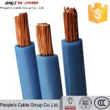 Solo alambre del aislante H07V-U del PVC de la base