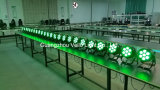 La IGUALDAD de Vello 5in1 RGBWA puede efectuar la luz (duende Colorpar 7 (5in1) del LED