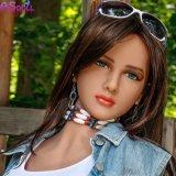Muñeca suave llena del silicón del amor de las muñecas del sexo verdadero del varón adulto para los hombres