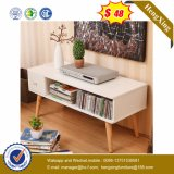 Table basse moderne de côté de meubles de salle de séjour (UL-MFC031)