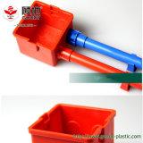 Sache-Marken-rotes und blaues Hauptelektrisches Rohr-Rohr der dekoration-UPVC