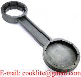 Nylon non che scintilla la chiave di plastica apri del coperchio del secchio della chiave del tappo del barilotto del timpano