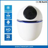 128g van BR WiFi IP Camera de Op batterijen van de Kaart 1080P met het Auto Volgen van 360 Graad