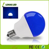 Venta caliente G14 5W Bombilla de luz azul LED 40W equivalente con E12 para la decoración