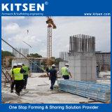 Material de aluminio de encofrado de muro de hormigón para la construcción
