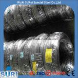 SS304 316 Draad van de Spoel van het Roestvrij staal van Ce van DIN de Standaard voor het Binden of het Weven