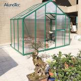 중국 판매를 위한 Windows를 가진 방수 알루미늄 폴리탄산염 녹색 집
