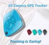 Отслежывателя GPS любимчика малыша отслежывателя 3G WCDMA малышей любимчик GPS личного водоустойчивый миниый