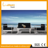 Vectores de aluminio de la base de sofá del jardín de la alta calidad y muebles caseros modernos determinados del sofá al aire libre del ocio del hotel de las sillas