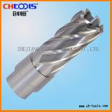 Filetage 50 mm de profondeur de coupe la queue de fixation de la faucheuse annulaire HSS
