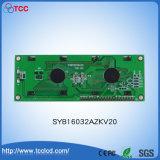 """Syb160X32 Azkv20 4.0 """" 인치 파란 LCD 디스플레이 Stn 도표 16032 LCD 모듈"""