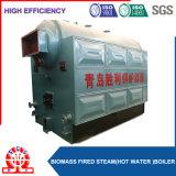 Caldeira durável da pelota da biomassa da câmara de ar da água e de incêndio