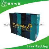Sacos feitos sob encomenda de papel dos presentes com punho