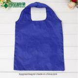 Fördernde faltbare Einkaufstasche, die billig Art und Polyester-Material faltet